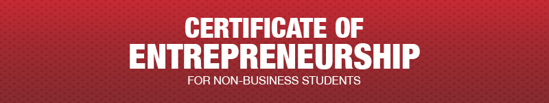 Certificate of Entrepreneurship